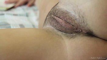 La Fantasía Porno Hd, Leer Un Libro, Y Sentarse En Su Húmedo Coño Desnudo