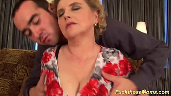 Hot Fuck With Incest In A Family With A Mom Fucked By Her Son