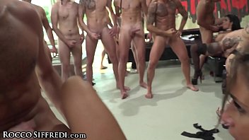 Three Of The Girls Versed To Solve The 10 Men, With Big Dicks And Willing To Fuck