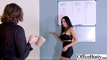 Sex Tape-In Office Mit Bösen Wild-Arbeiter-Mädchen-Video-06