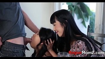 Sex With Two Asian Girls Who Are Fucked Deep Into My Mouth Xnxx
