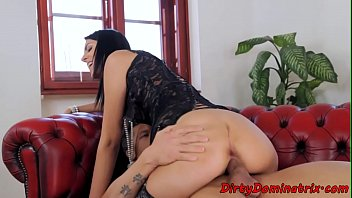 Dominated Babe Assfucked And Jizzed In Mouth