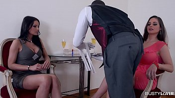 Servant To Black And Bring The White Wine To The Ladies, And Offers Them The Biggest Gift