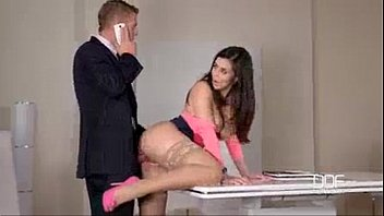 The Hottest Pussies Fuck Their Boss In The Office