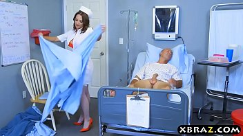 Patient With Erection Fucked By Whore Nurse