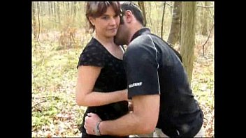 Sex In The Forest With A Mom Having Sex Standing With Her Stepson