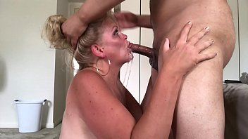 Watch As The Mature Gets A Deep Blowjob With Completion