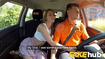 Taxifahrer Von Geilem Kunden Gefickt