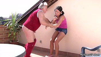 Caught Old And Young Fucking Girl By Force
